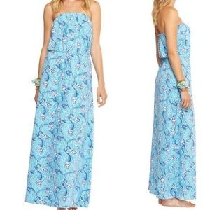 "| Lilly Pulitzer | ""Marlissa maxi in ""Nice Tails"""
